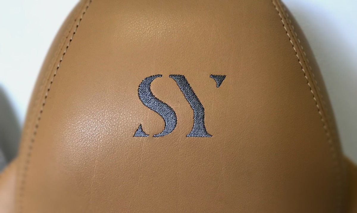 SY embroided